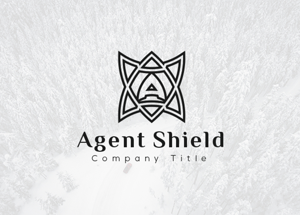 Agent Shield - Logo Template #67433