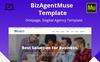 BizAgent Muse Template Big Screenshot