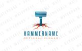 Hammer the Groundshaker - Logo Template
