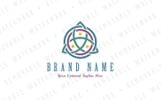 Triquetra Trinity Knot - Logo Template