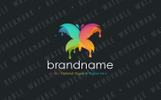 Butterfly Paint - Logo Template