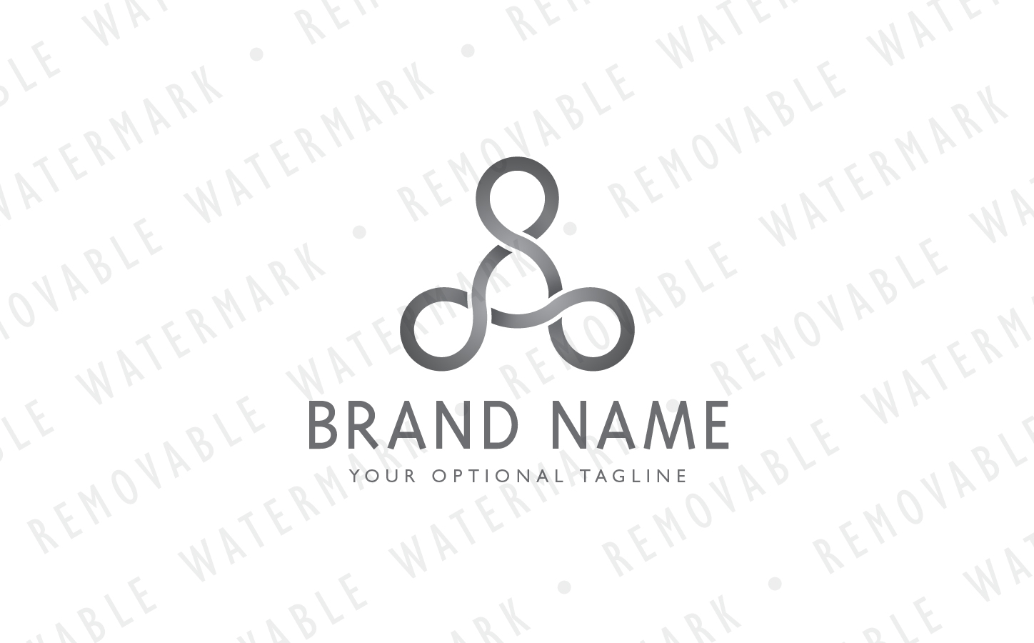 Triangle Of Infinity Logo Template 67349