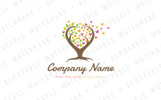 Tree Of Butterflies - Logo Template