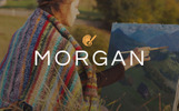 "Website Vorlage namens ""Morgan - Artist Portfolio Multipage HTML5"""