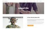 Plantilla Web para Sitio de Galerías de arte