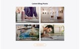 Morgan - Artist Portfolio Multipage HTML5 Website Template
