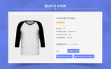 Grey Fashion Mart OpenCart Template