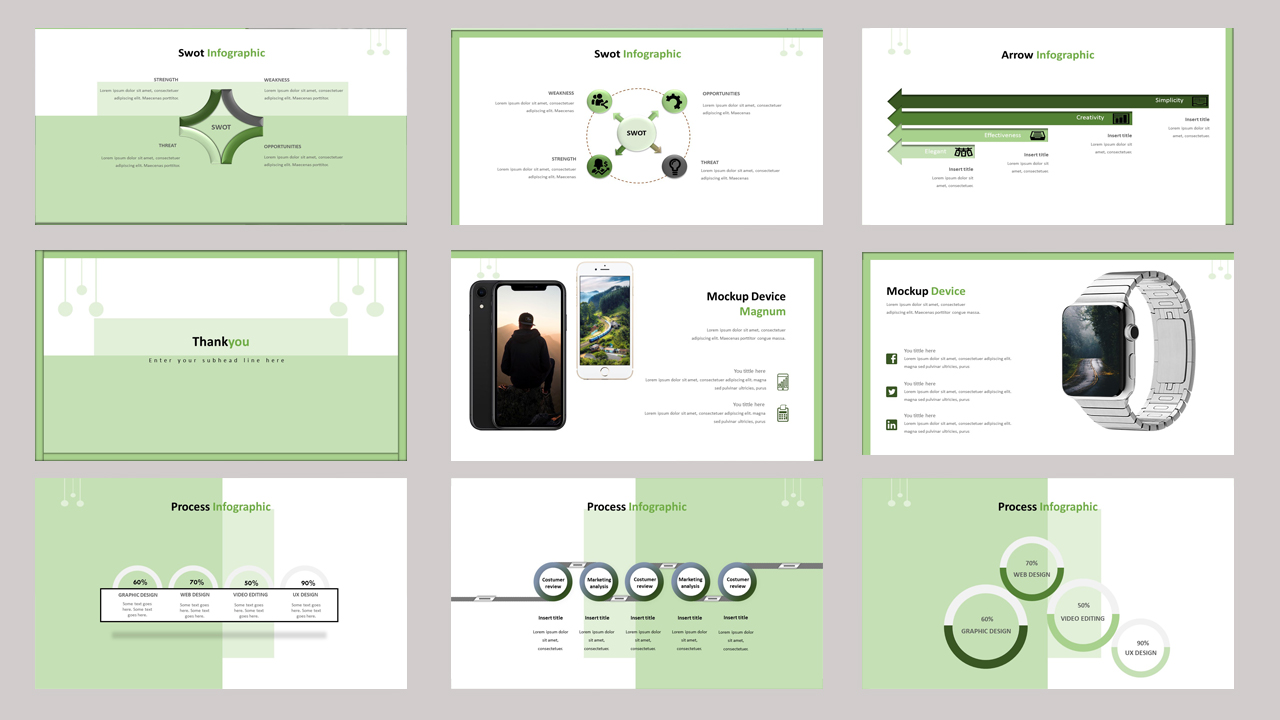 Magnum - Creative Business PowerPoint Template