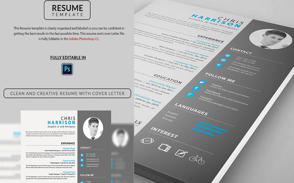 Wonderful Web Designer Resume Template