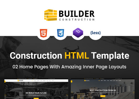 Builder - Construction Company HTML