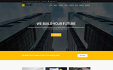 "Website Vorlage namens ""Builder - Construction Company HTML"""