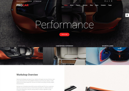 Car Parts Multipage HTML5