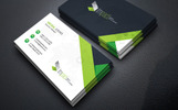 Impact Minimal Business Card Corporate Identity Template