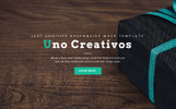 Uno - Creative One Page Muse Template