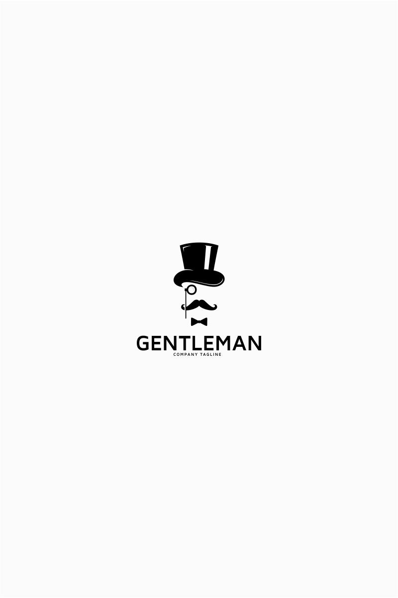 Gentleman Hipster Logo Template 64755