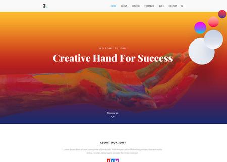 Joy - Corporate HTML