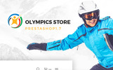 Olympics Store - Professional Sports PrestaShop Theme