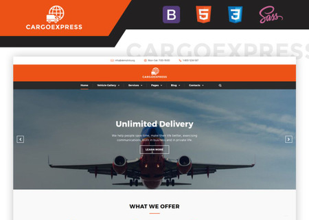 Delivery Services Multipage HTML5