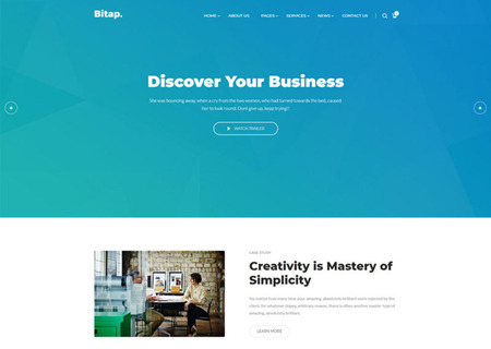 Bitap - Business & Corporate HTML