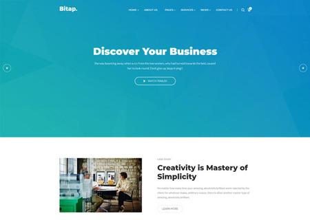 Bitap - Business & Corporate HTML
