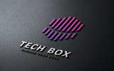 TechBox - Technology Hexagon Logo Template