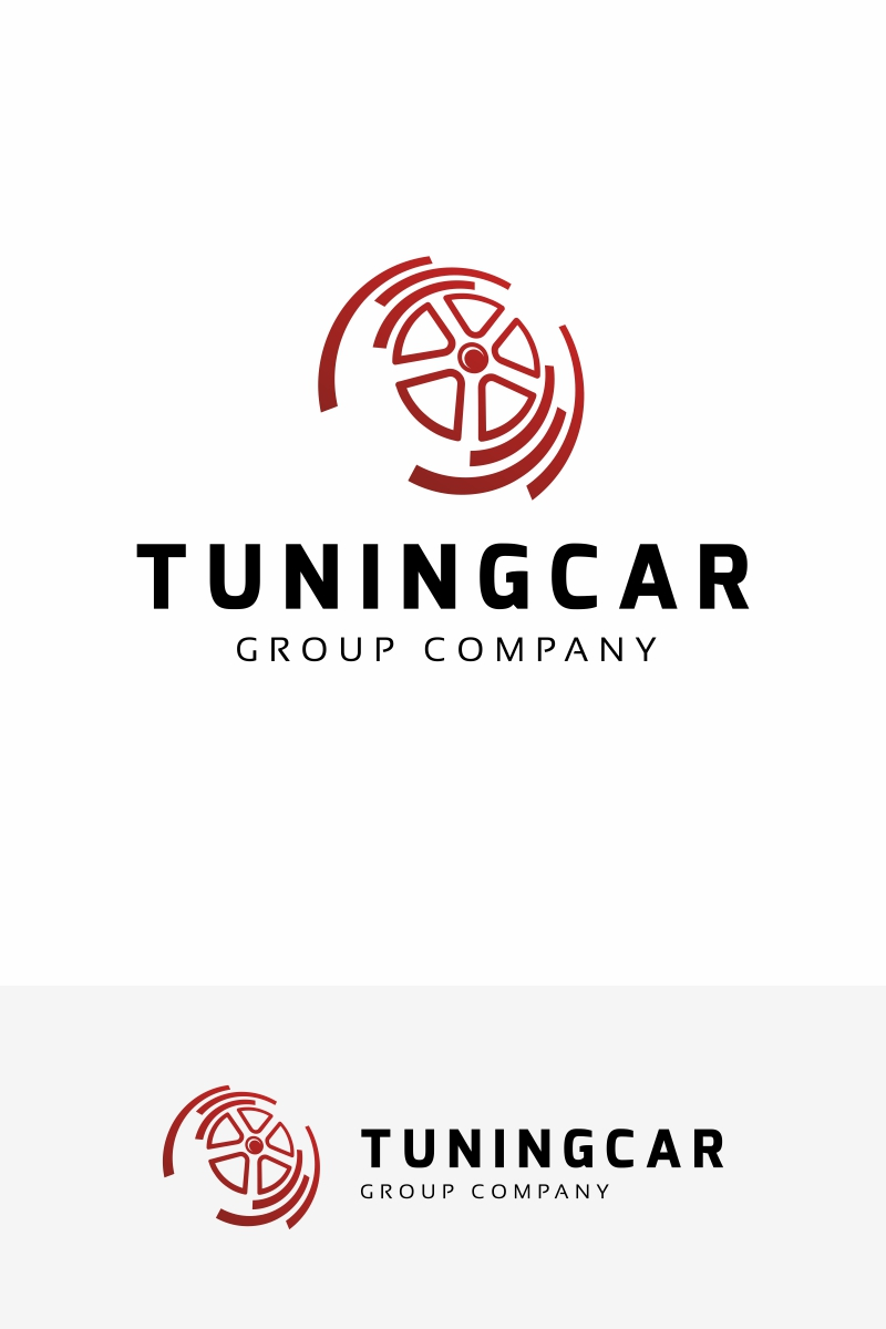Tuning Car Logo Template 67522