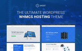 uHost - Web Hosting  with WHMCS Support WordPress Theme