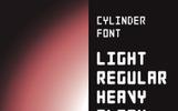 Cylinder Font Family Font