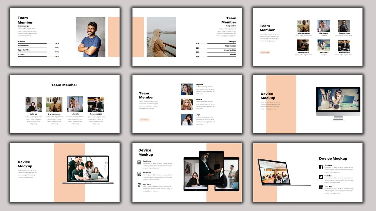 Aracna - Creative Business PowerPoint Template