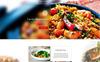 Restaurant Landing Page PSD Template Big Screenshot
