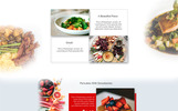 Restaurant Landing Page PSD Template