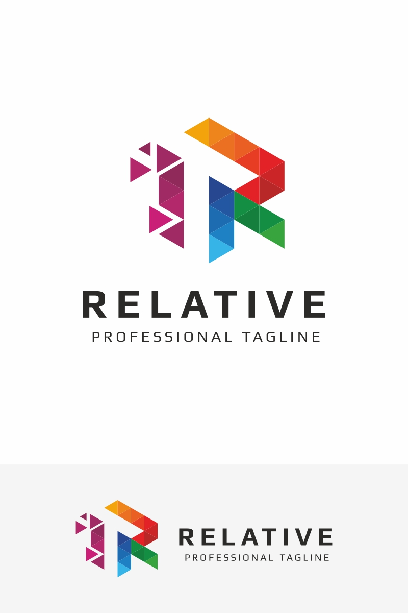 Relative r letter logo template 67530 thecheapjerseys Images