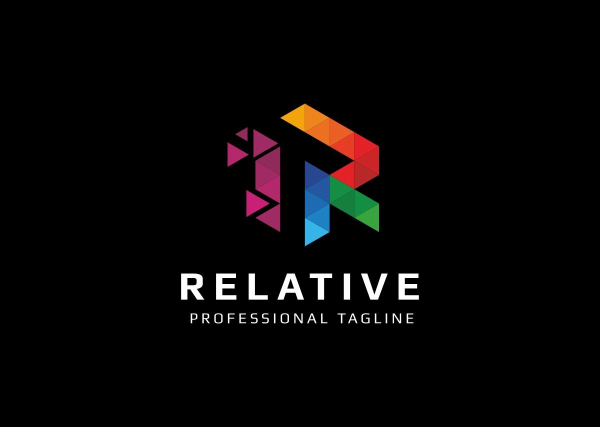Relative r letter logo template 67530 relative r letter logo template altavistaventures Image collections