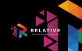 Relative - R Letter Logo Template