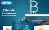 """Rebyte Bitcoin Templates"" WordPress thema"