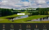 Golfix - Golf Club Multipage HTML Website Template