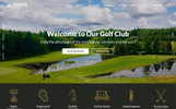 "HTML шаблон ""Golfix - Golf Club Multipage HTML"""