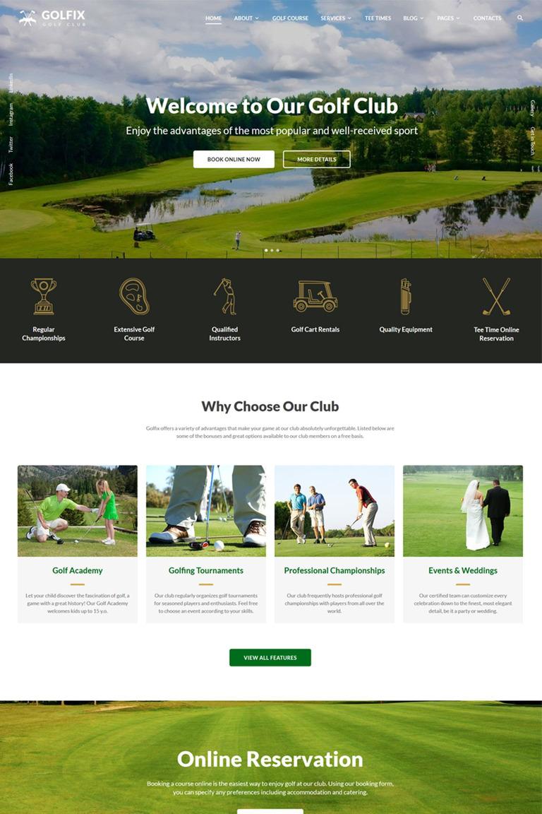 Website Vorlage #67291 für Sportnachrichten