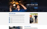 Car Wash - Unbounce Template