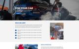 Car Wash - Unbounce Template