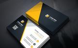 Business Card Design Corporate Identity Template