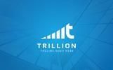 Trillion - T  Letter Logo Template