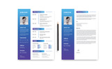 2 Pages Modern - Resume Template