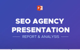 """SEO Agency Report & Analytic -"" PowerPoint 模板"