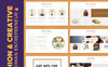 "PowerPoint Vorlage namens ""Fashion & Creative Catalogue -"" Großer Screenshot"