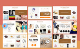 "PowerPoint Vorlage namens ""Fashion & Creative Catalogue -"""