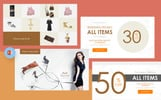 Fashion & Creative Catalogue - PowerPoint Template