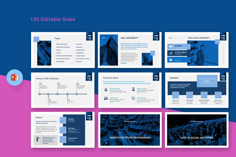 PowerPoint Vorlage #67599 für Bibliothek