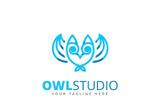 Owl Logo Template Logo Template