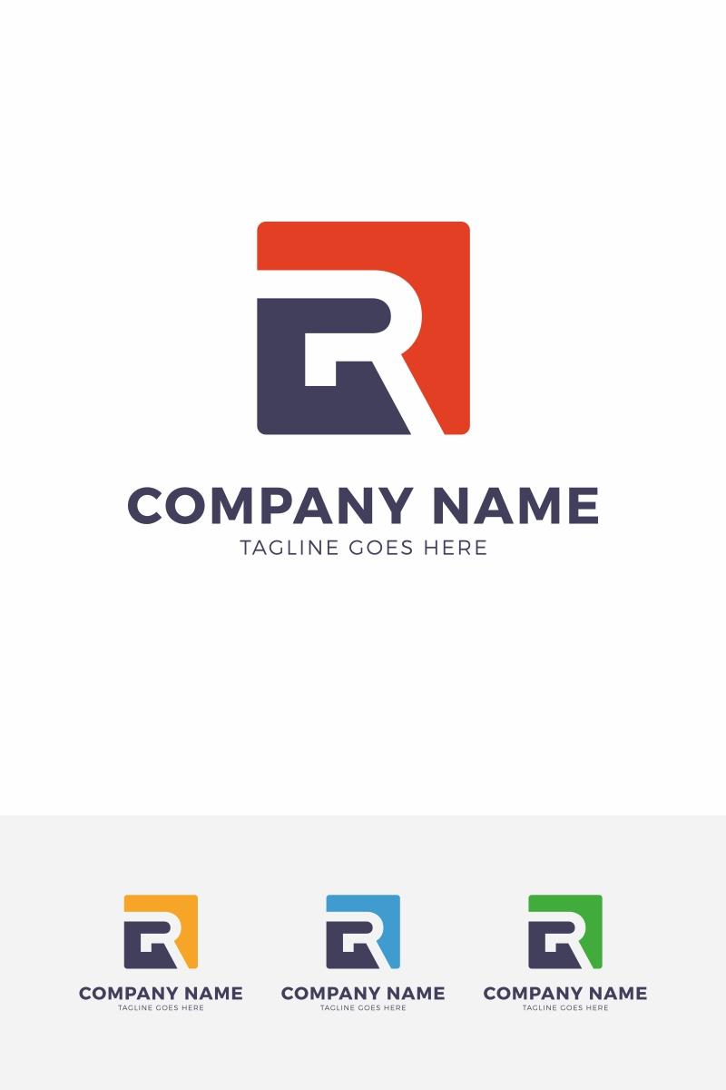 revento r letter logo template